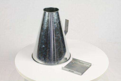 slacht-trechter-roestvast-staal